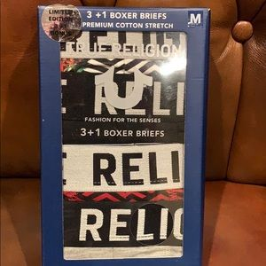 True Religion premium cotton stretch boxer briefs